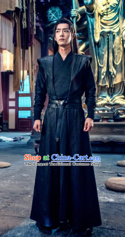 Chinese Drama The Untamed Ancient Swordsman Wei Wuxian Xiao Zhan Costumes for Men