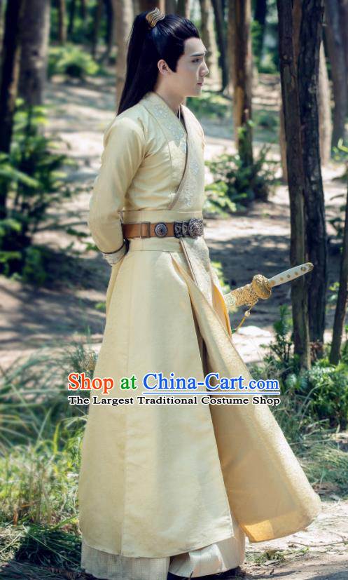 Drama The Untamed Chinese Ancient Swordsman Prince Jin Guangyao Costumes for Men