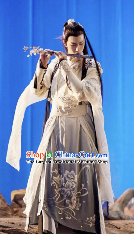 Chinese Ancient Drama The Untamed Swordsman Nobility Childe Lan Wangji Wang Yibo Costumes for Men