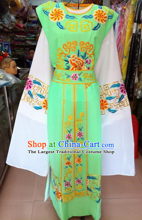 Chinese Traditional Beijing Opera Niche Costume Peking Opera Scholar Green Robe for Adults