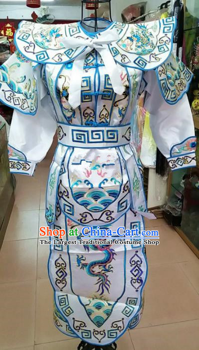 Chinese Traditional Beijing Opera Takefu Costume Peking Opera General Embroidered Robe for Adults