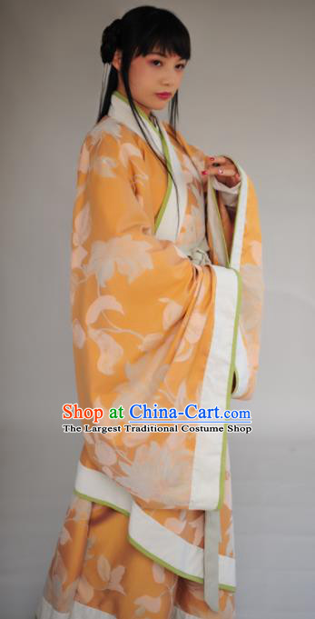 Chinese Ancient Princess Hanfu Dress Han Dynasty Palace Lady Historical Costumes Complete Set