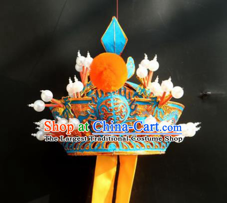 Chinese Traditional Beijing Opera Seignior Hat Peking Opera Royal Highness Helmet