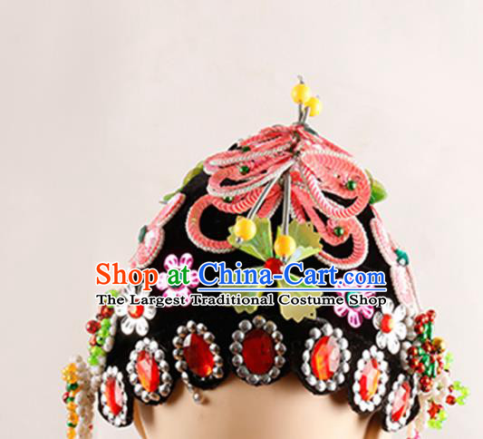 Chinese Traditional Beijing Opera Young Lady Headwear Ancient Kun Opera Hair Accessories