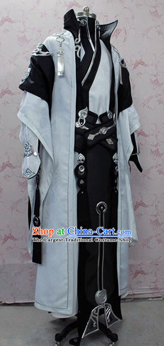 Chinese Ancient Swordsman Costume Traditional Cosplay General Clothing for Men