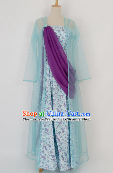 Traditional Chinese Song Dynasty Hanfu Dress Ancient Young Lady Historical Costume for Women