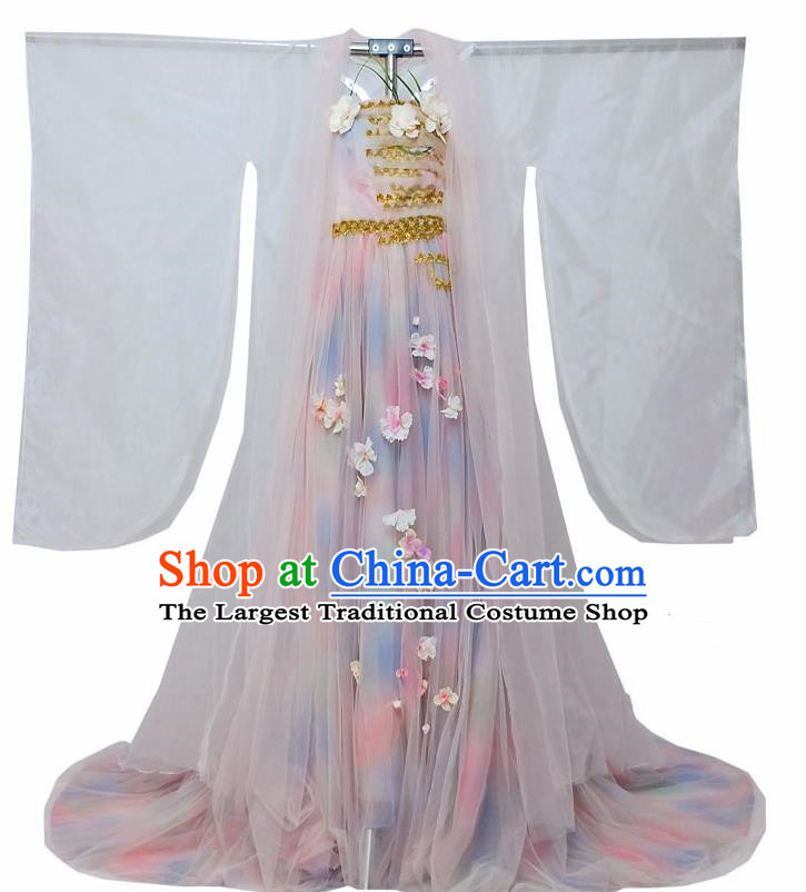 Traditional Chinese Tang Dynasty Queen Hanfu Dress Ancient Empress Historical Costume for Women