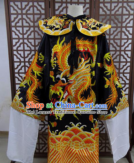 Traditional Chinese Beijing Opera Old Men Costume Peking Opera Prime Minister Clothing