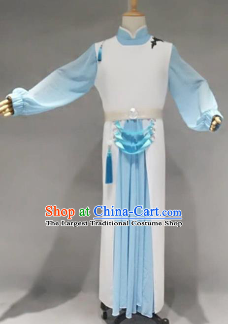Traditional Chinese Classical Dance Costume China Ancient Swordsman Clothing for Men
