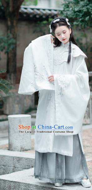 Traditional Chinese Ming Dynasty Princess Historical Costume Ancient Palace Lady Hanfu Dress for Women