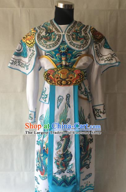 Traditional Chinese Beijing Opera Takefu Costume Peking Opera Soldier Clothing