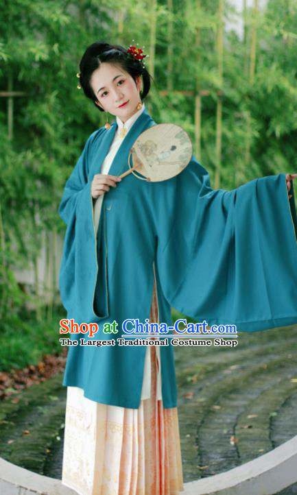 Chinese Ancient Peri Hanfu Dress Traditional Ming Dynasty Imperial Consort Historical Costume for Women