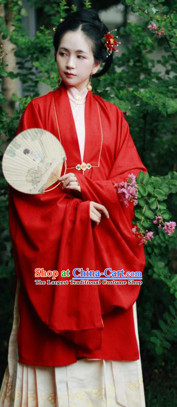 Chinese Traditional Ming Dynasty Imperial Consort Historical Costume Ancient Peri Hanfu Dress for Women