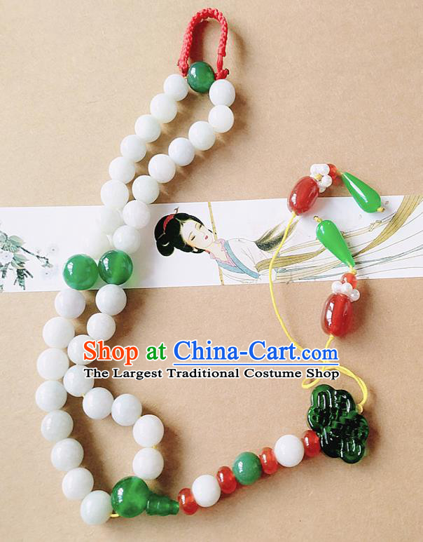 Chinese Ancient Bride Hanfu Jewelry Accessories Tassel Pendant Traditional Palace Bracelet for Women