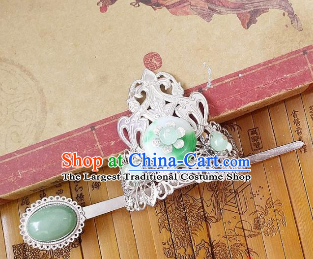 Chinese Ancient Nobility Childe Hair Accessories Palace Traditional Hanfu Hair Crown Hairpins for Men