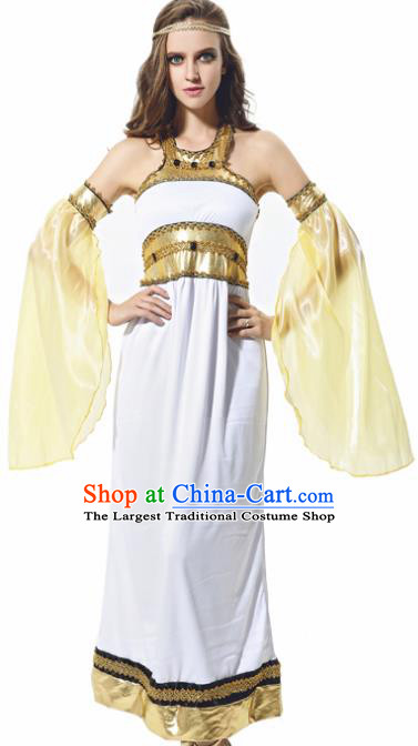 Traditional Greece Costume Ancient Greek Goddess Garment Garden of Eden Dress for Women