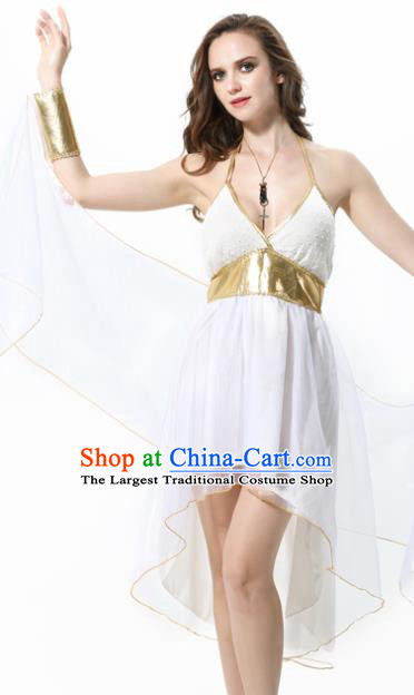 Traditional Greece Costume Ancient Greek Goddess Athena Dress for Women