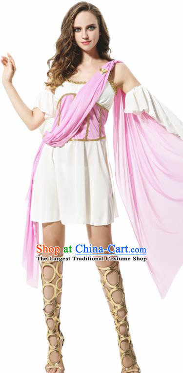Traditional Greece Costume Ancient Greek Goddess Female Ares Dress for Women