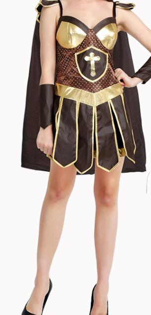 Traditional Roman Costume Ancient Rome Female Warrior Dress for Women