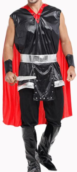 Traditional Roman Warrior Costume Ancient Rome Senator Clothing for Men