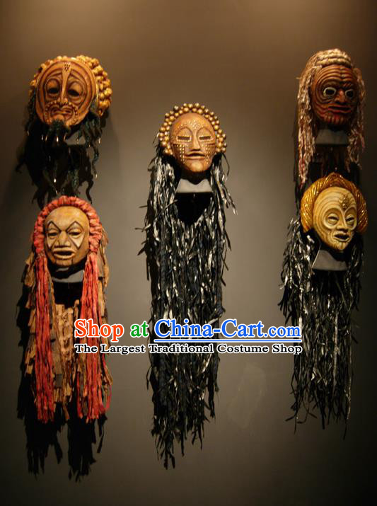 Traditional Greek Craft Ancient Greece Stage Performance Masks