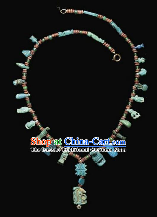 Traditional Egyptian Jewelry Accessories Ancient Egypt Palace Necklace for Women