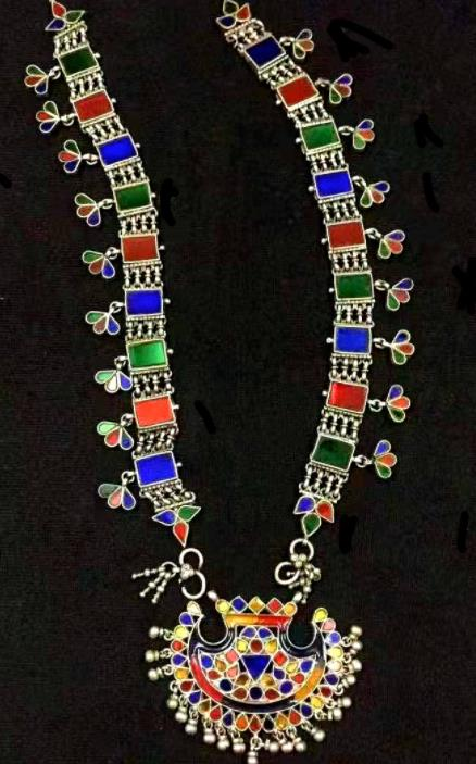 Traditional Egyptian Queen Necklet Accessories Ancient Egypt Gem Necklace for Women