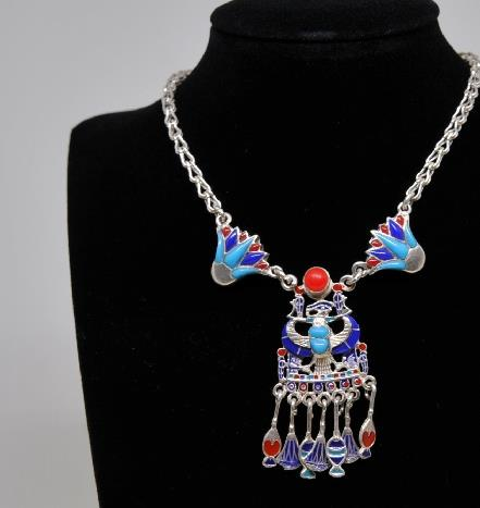 Traditional Egyptian Jewelry Accessories Ancient Egypt Necklace for Women