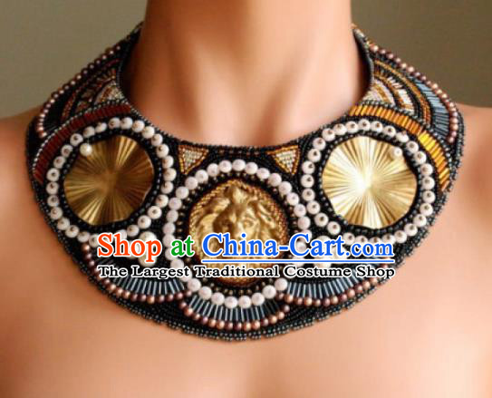 Traditional Egyptian Jewelry Accessories Ancient Egypt Lion Necklace for Women