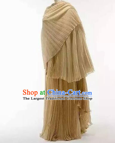 Traditional Greek Beauty Costume Strophion Peplos Ancient Greece Goddess Dress for Women