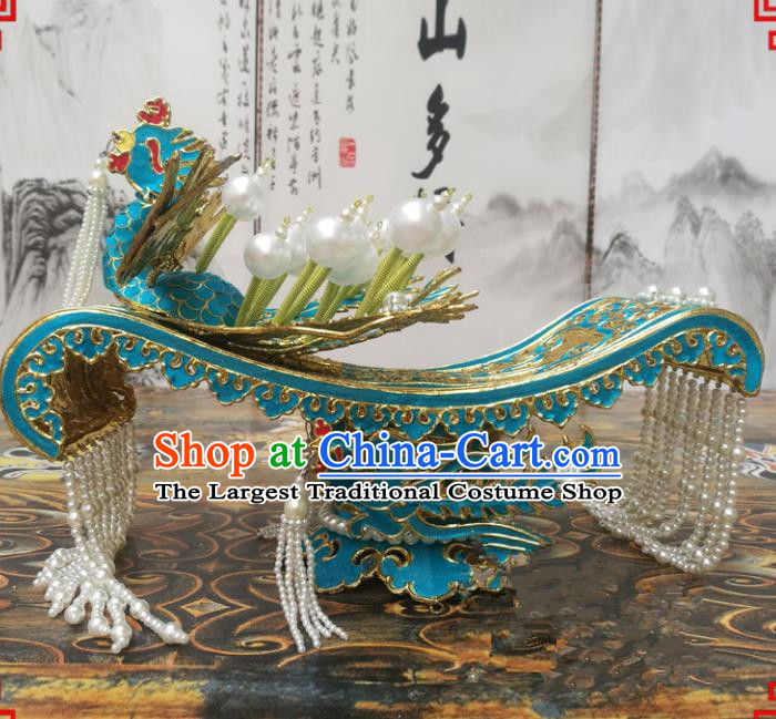 Chinese Beijing Opera Queen Hair Accessories Ancient Empress Hair Crown for Women