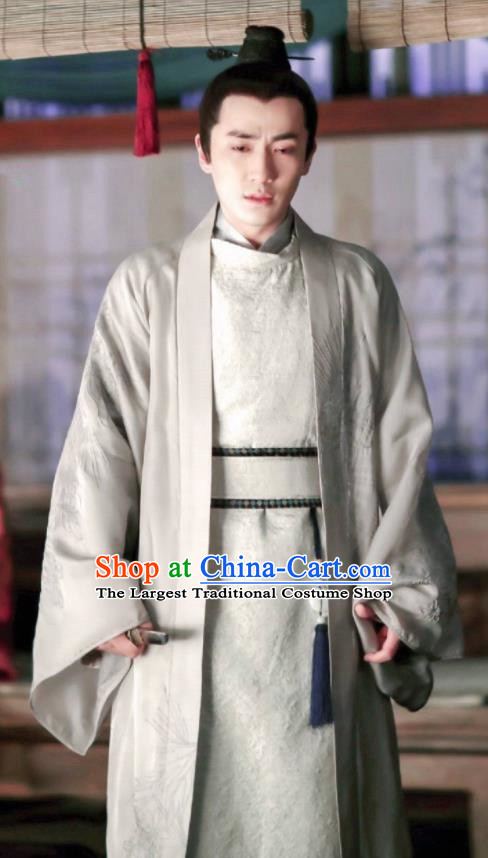 Drama The Story Of MingLan Chinese Ancient Song Dynasty Imperial Censor Embroidered Historical Costume for Men