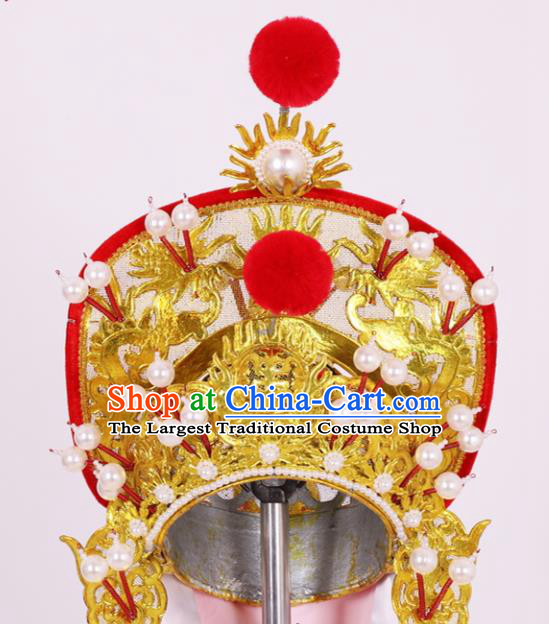 Chinese Traditional Peking Opera Female General Hat Classical Beijing Opera Headwear for Women