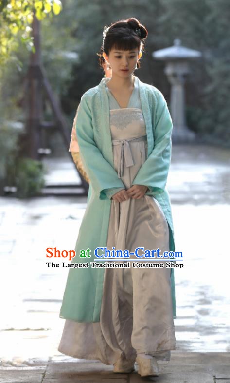 Chinese Drama The Story Of MingLan Ancient Song Dynasty Nobility Lady Embroidered Historical Costume for Women
