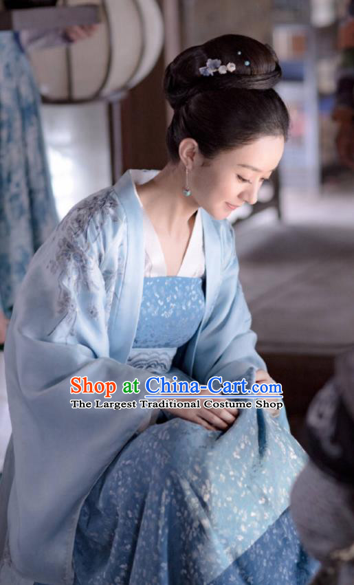 Chinese Drama The Story Of MingLan Ancient Song Dynasty Nobility Duchess Embroidered Historical Costume for Women