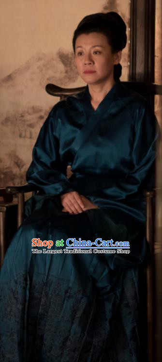 The Story Of MingLan Chinese Ancient Dowager Hanfu Dress Song Dynasty Nobility Lady Embroidered Costume for Rich Women