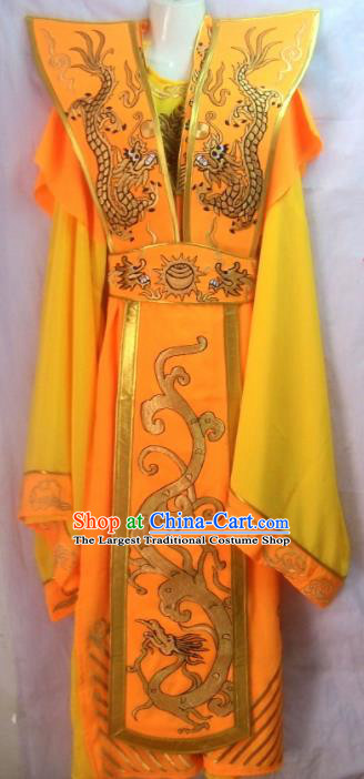 Chinese Traditional Beijing Opera Emperor Embroidered Robe Peking Opera Costume for Men