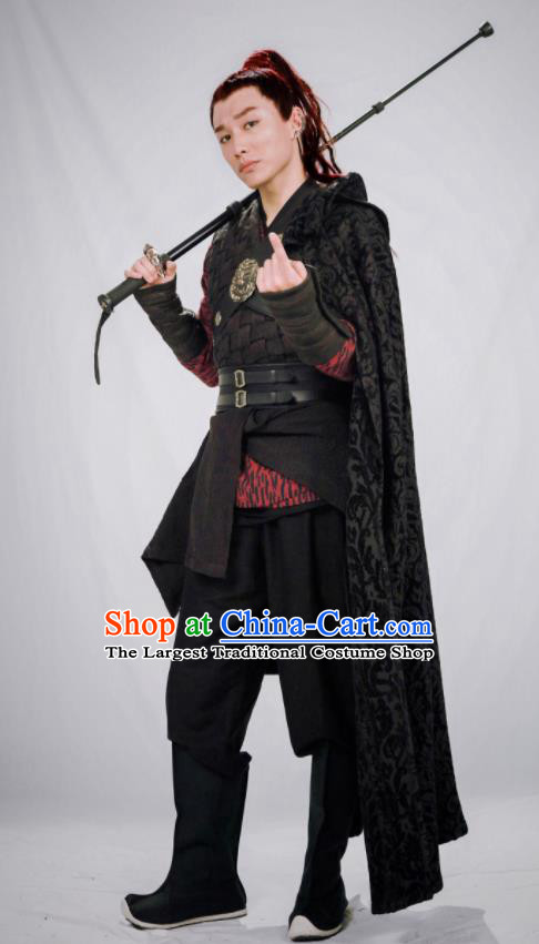 Drama Zhao Yao Chinese Ancient Knight Young Swordsman Replica Costume for Men