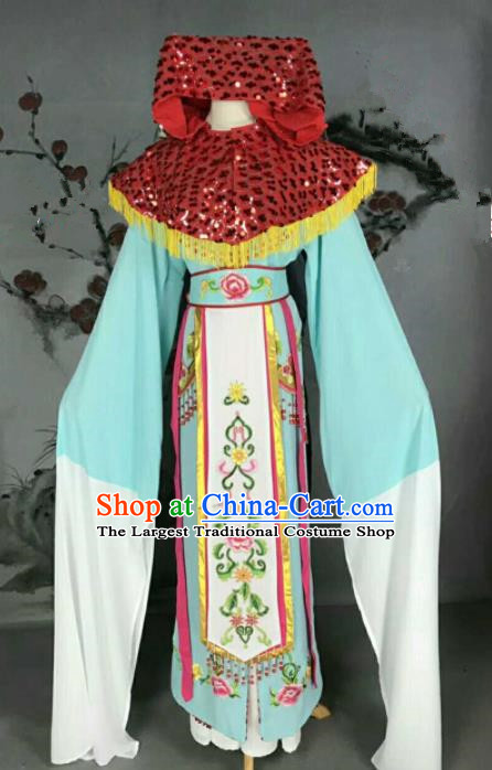 Traditional Chinese Peking Opera Nobility Lady Dress Ancient Court Princess Costume for Women