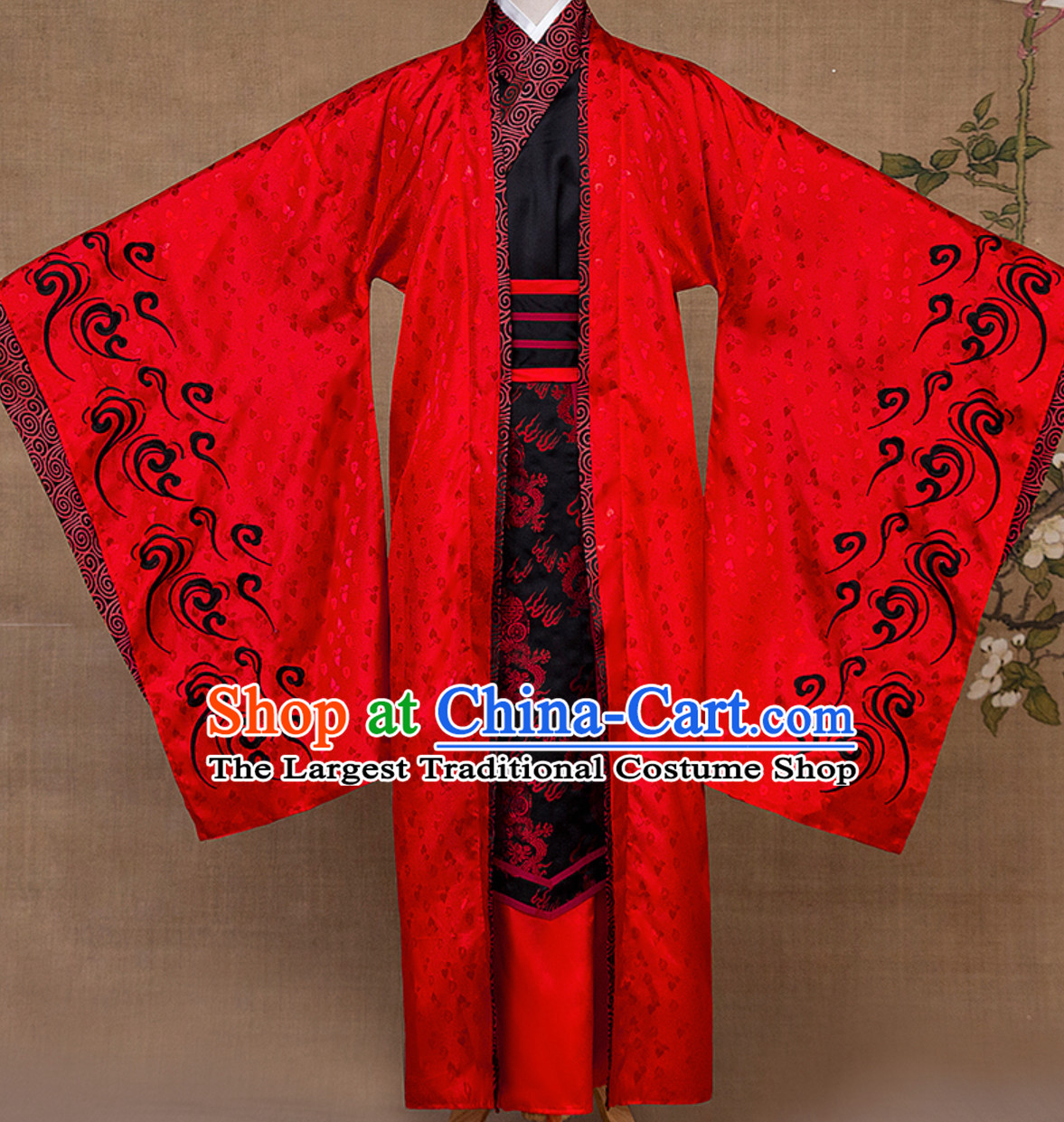 Ancient Chinese Emperor Royal Dress Complete Set