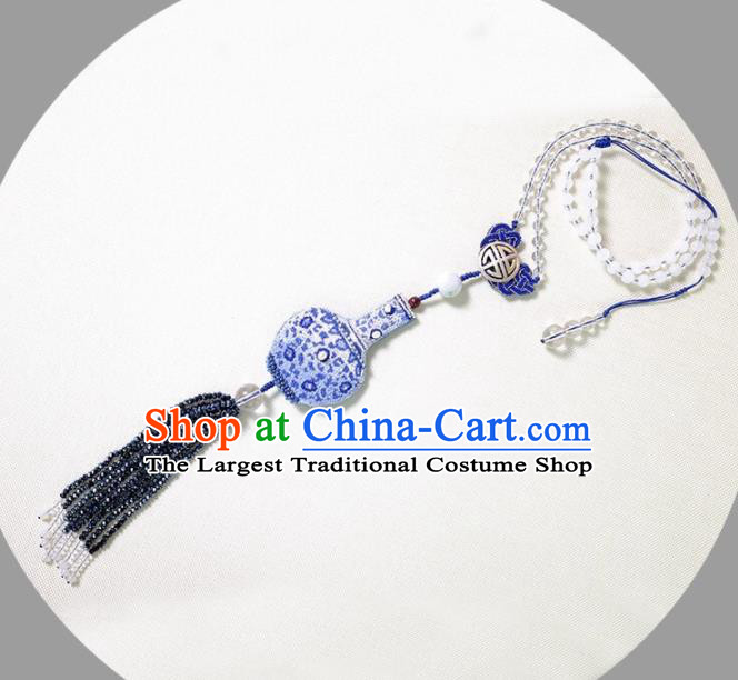 Chinese Traditional Accessories Classical Tassel Necklace for Women