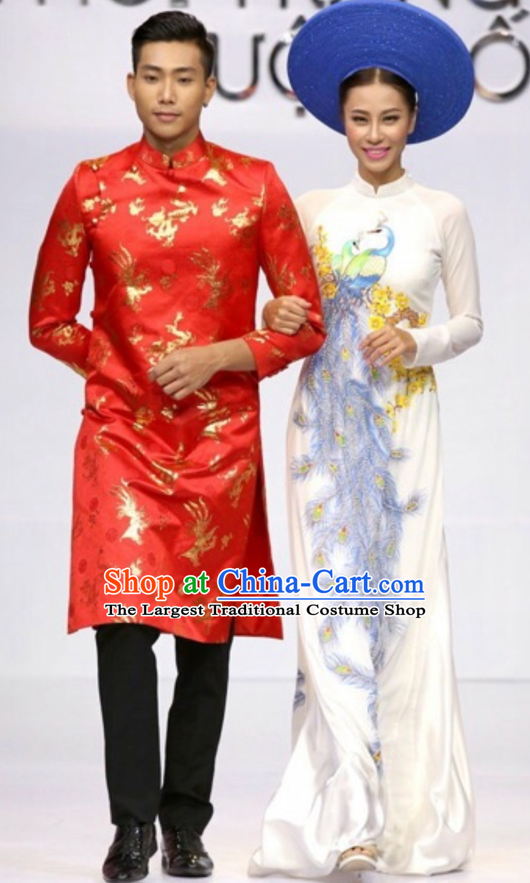 Top Traditional Vietnam Wedding Dresses Complete Set for Bride and Bridegroom