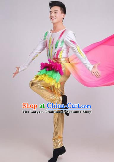 Chinese Traditional Classical Dance Costume Folk Dance Stage Performance Clothing for Men