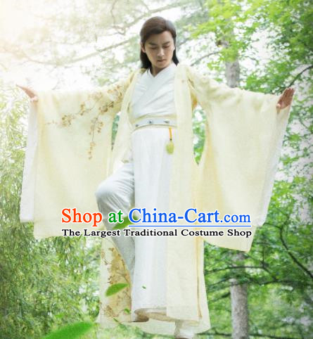 Drama Queen Dugu Chinese Ancient Northern Zhou Dynasty Swordsman Historical Costume for Men