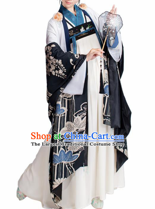 Chinese Traditional Cosplay Princess Costume Ancient Tang Dynasty Hanfu Dress for Women