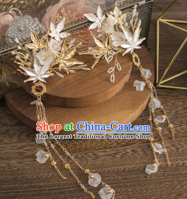 Chinese Traditional Hanfu Princess Hair Accessories Ancient Imperial Consort Hair Claws for Women