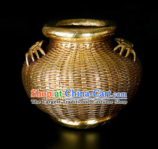 Chinese Traditional Feng Shui Items Taoism Bagua Brass Creel Decoration