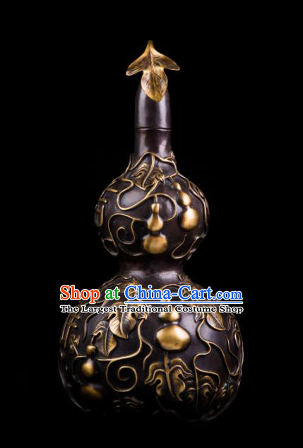 Chinese Traditional Feng Shui Items Taoism Bagua Brass Cucurbit Decoration