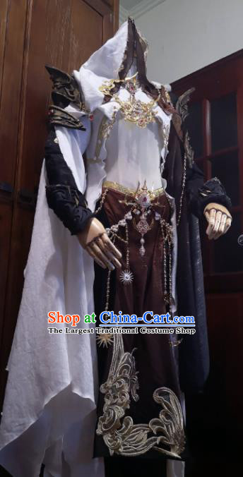 Chinese Traditional Cosplay Costume Ancient Swordsman Clothing for Men