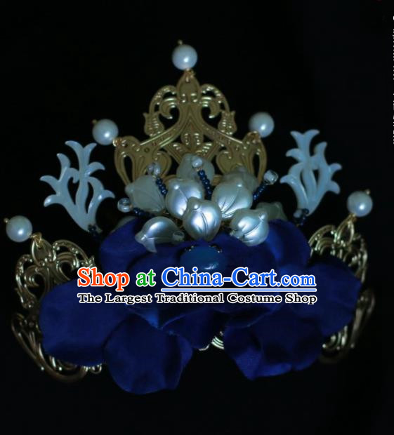 Traditional Chinese Hanfu Shell Hair Crown Hair Accessories Ancient Imperial Consort Hairpins for Women